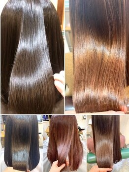 ブラン(Blanc)の写真/【髪質改善+カット¥9400】扱いにくい髪が変わる!保湿成分を補充し、しっとりやわらかな潤いのある美髪に