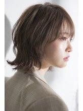 ミエル ヘア 新宿(miel hair)20代30代40代シースルーバング/ボブウルフ/ダークアッシュ