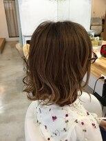 オーガニックヘアサロン ツリー(organic hair salon Tree)グラデミディアム
