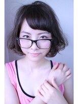 ロベック モトヤマ(Lobec MOTOYAMA)どこか抜け感のあるふんわりヘア