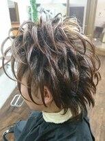TTM ヘアーファクトリー(TTM hair factory)スジ盛りスタイル