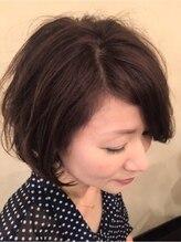 ヘアアンドメイク ガーデン(hair&make Garden)大人ガーリーボブ♪