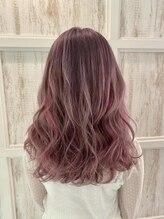 リゼル シブヤ(RISEL SHIBUYA)ピンクパープルのカラーハイライト