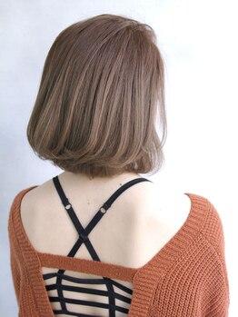 アクネ(ACNE)の写真/大人女性のお悩みも〔トレンド×大人カラー〕で素敵に仕上がる★白髪染めもおしゃれに染めたい方に♪