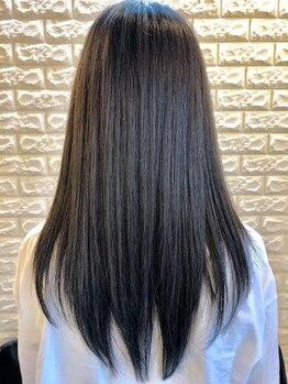 ピリカヘアデザイン(pirica hair design)の写真/≪大人気≫誰もが憧れる、なりたかったサラサラの自然なストレートヘアに!毎朝のお手入れが楽しくなる♪
