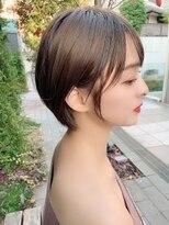クーエフー(coo et fuu)20代30代40代丸みのある女性らしいショートボブ内見加瑞磨