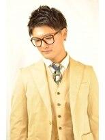 ステップ(STEP)【STEP YOSHI】メンズショートスタイル ビジネス ナチュラル
