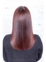 ヘアーメイク ダンス(hair make DANCE)#edol #ピンク 赤味を削るカラー