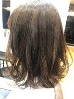 ベイジヘアークチュール(BEIGE hair couture)外ハネボブ×セピアベージュ