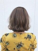 ポッシュ 原宿店(HAIR&MAKE POSH)ホワイトクリームブラウンカラー