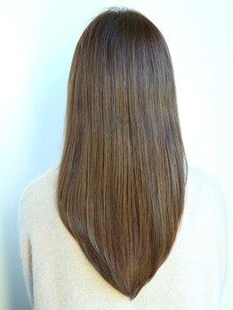 チッポラの写真/ダメージが気になる方も安心の髪に優しい薬剤を使用◎髪質を見極ながら希望に合わせた仕上がりにします☆