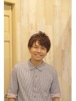 ロイ ヘアルーム 草加店(Roy hairroom)ソフトツーブロック