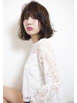 シアン ヘア デザイン(cyan hair design)【cyan】大人カワイイニュアンスボブ