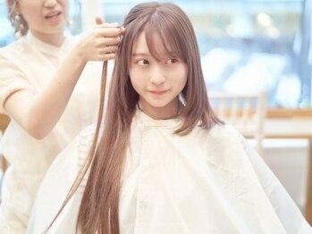 バイオレット 横浜店(Violet)の写真/韓国で話題沸騰☆春のイメチェンはvioletで決まり♪【好きな長さに自由自在/高級シールエクステ¥550~】