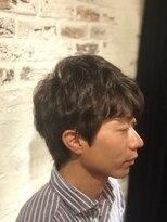 バロン 新宿店(baLon.)メンズピンパーマスタイル(Takeo Horiuchi)