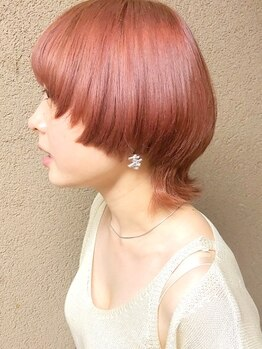 ボリューム(VOLUME)の写真/印象を大きく変える前髪へのこだわりは譲れない!!1ミリ単位でカットしていくから、理想以上の仕上がりに◎
