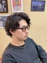 オムヘアーフォー(HOMME HAIR 4)キングヌー 常田風 スタイル ハードパーマ