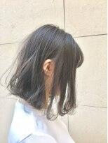 ヘアーデザイン アコースティック(Hair Design ACOUSTIC)モノトーンボブ