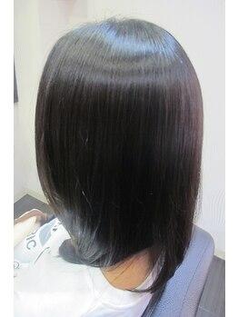美容室ブラスパの写真/なんとなくクセ毛でまとまらない。年齢とともに髪がバサバサしてきた。そんな悩みにはシルキーエステ!!