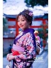 オリーブ(OLIVE)【オリーブ】成人式♪ヘアセット&着付け