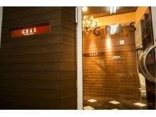 グラ デザインアンドヘアー 梅田店(GRAS DESIGN & HAIR)の雰囲気(心地の良い空間と時間、高度な技術、デザインを提供致します☆)
