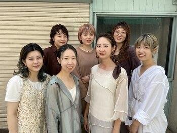 アコット ラバス(Acotto Labas)の写真/アパレルや美容部員などオシャレ女子が通いつめる―白を基調とした隠れ家Salonで理想のstyleを叶えます。