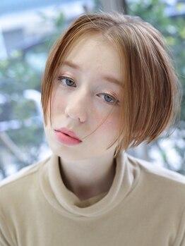ヘアーメイクミキ 上野本店(hair make MIKI)の写真/《御徒町3分/上野6分》お客様の骨格、生え癖、髪のダメージなど見極め、女性らしいショートヘアに♪