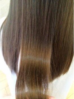 ロジーフォーヘアー(LOZY for hair)の写真/【八乙女唯一!TOKIOトリートメント導入☆】特許取得のインカラミTOKIOトリートメントが大人気!