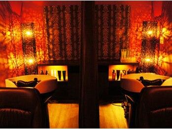ヘアアート ル シエル(Hairart Le ciel)の写真/【完全個室のエステ&スパルーム完備】魅惑のヘッドスパ&フェイシャルトリートメントで美しく癒される…♪