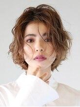 アース 行徳店(HAIR&MAKE EARTH)外国人風クセ毛ボブ