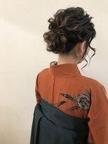 卒業式☆袴☆着付ヘアアレンジ