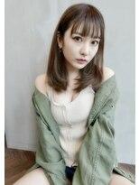 アンジェリカ ハラジュク(Angelica harajuku)シースルーバングミディアム