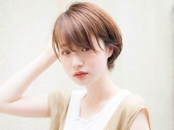アビキュー(abiquiu)の写真/[渋谷駅徒歩7分]貴方に一番似合うカットで憧れの小顔ショートヘア♪確かなカット技術で魅力を引き出します!