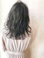 ギフヘアー 梅田茶屋町店(gif.hair)★抜け感ハイライト×ブルージュ×クラシカル×ラフウェーブ
