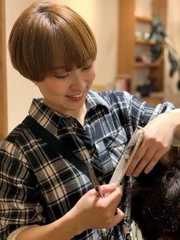 髪切屋さん テテ(Tete)の写真/≪札幌駅北口から、てくてく5、6分≫一緒に理想のスタイルをさがしましょう♪