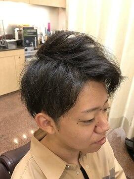 ヘアーズビューティー エルツー(Hair's Beauty L2)ツーブロック×ショート