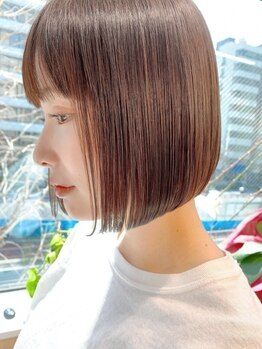 サンド ヨコハマ(sand yokohama)の写真/【横浜☆NewOpen】ワンランク上の薬剤と技術で、想像以上の美髪ストレートに☆価格以上の価値をお約束♪
