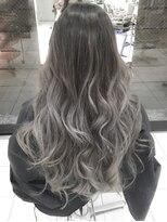 デイズ(days)アッシュグラデーションカラーブリーチデザインカラー美髪