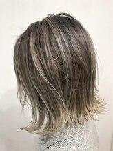 ヘアースタジオ ゼン(hair studio Zen)外国人風ハイライトMIX