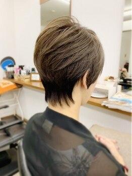 ヘアクリエイト エクセル美容室(Hair Create EXCEL)の写真/【北広島駅3分☆】カラー剤による「しみる」「かゆい」「ニオイ」を解決!頭皮と髪をいたわるプロの施術♪