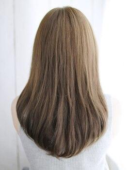 ディアローグ 瑞江店(DEAR-LOGUE)の写真/さらに進化したDEAR-LOGUEのアクアリッチ縮毛矯正はただ伸ばすだけのストレートではありません♪