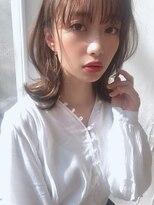 カヤックバイハニー 渋谷店(KAYAK by HONEY)【KAYAK渋谷】愛されミディアム ブラウンベージュ