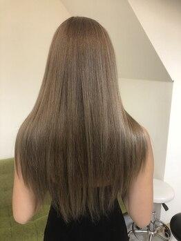 グルック ヘアー リラクゼーション 美章園店(Gluck Hair Relaxation)の写真/ポイント縮毛矯正など豊富なストレートMENU★プチプラ&髪質改善でまとまらない髪も艶のある美髪に◎