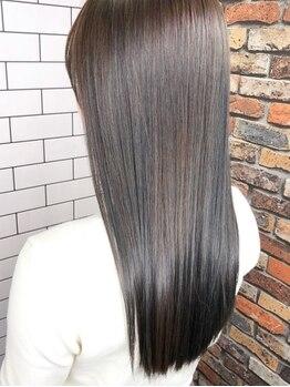 ルーナヘアー(LUNA hair)の写真/SNSで話題の髪質改善トリートメント☆ダメージを内側から徹底補修!!今まで悩んでいた髪もツヤサラ髪に♪