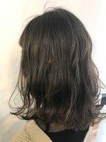 ヘアーアンドメイク ルシア 梅田茶屋町店(hair and make lucia)シークレットハイライトで透明感抜群☆グレージュロブ