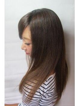 美容室ブラスパの写真/ブラスパ人気NO.1☆「電子トリートメント」髪をそもそも傷めない施術をする!!これが一番大切◎