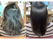 髪質改善ヘアエステサロン ラフォンテ(La fonte)の雰囲気(うねり・くせ毛・ハイダメージの方も髪質改善で再生させます。)