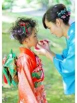 オゥルージュミュゼ(Aurouge)■祝 七五三■可愛いヘアメイク・着付・写真撮影ができるサロン*