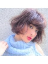 カルム(Calme)冬のファッションにピッタリ☆玉城ティナ風ボブ☆2016.10.12