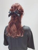 アリス ヘア デザイン(Alice Hair Design)Alice☆ゆるふわリボン×ハーフアレンジ